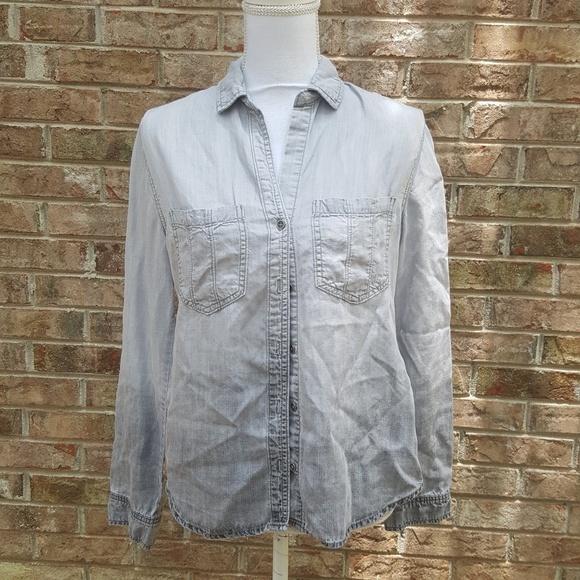 ccbb0c664e3f11 Chelsea   Violet Tops - Anthro Chelsea   Violet button up shirt - S